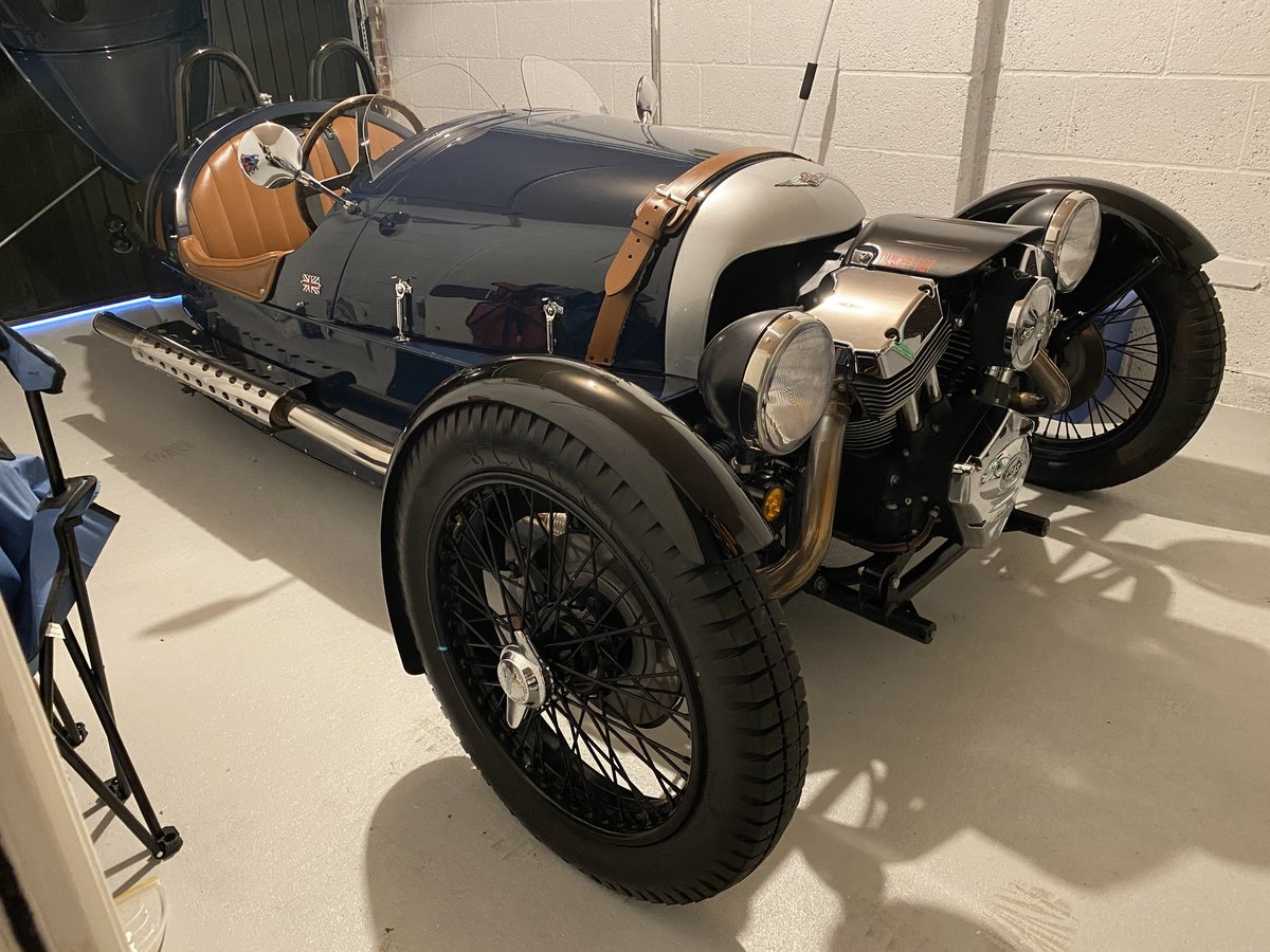 2015 3-Wheeler, Morgan Sports Blue For Sale (picture 4 of 4)