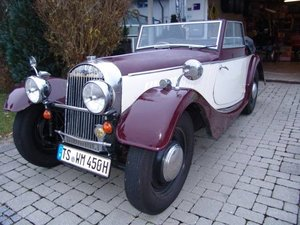 One of the last produced Morgan 4/4 Series 1 DHC