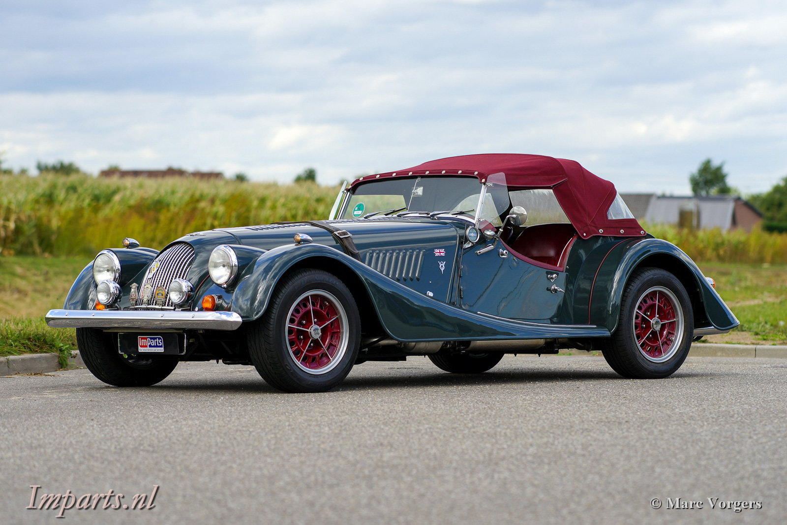 1997 Excellent Morgan Plus 8 (LHD) For Sale (picture 1 of 6)