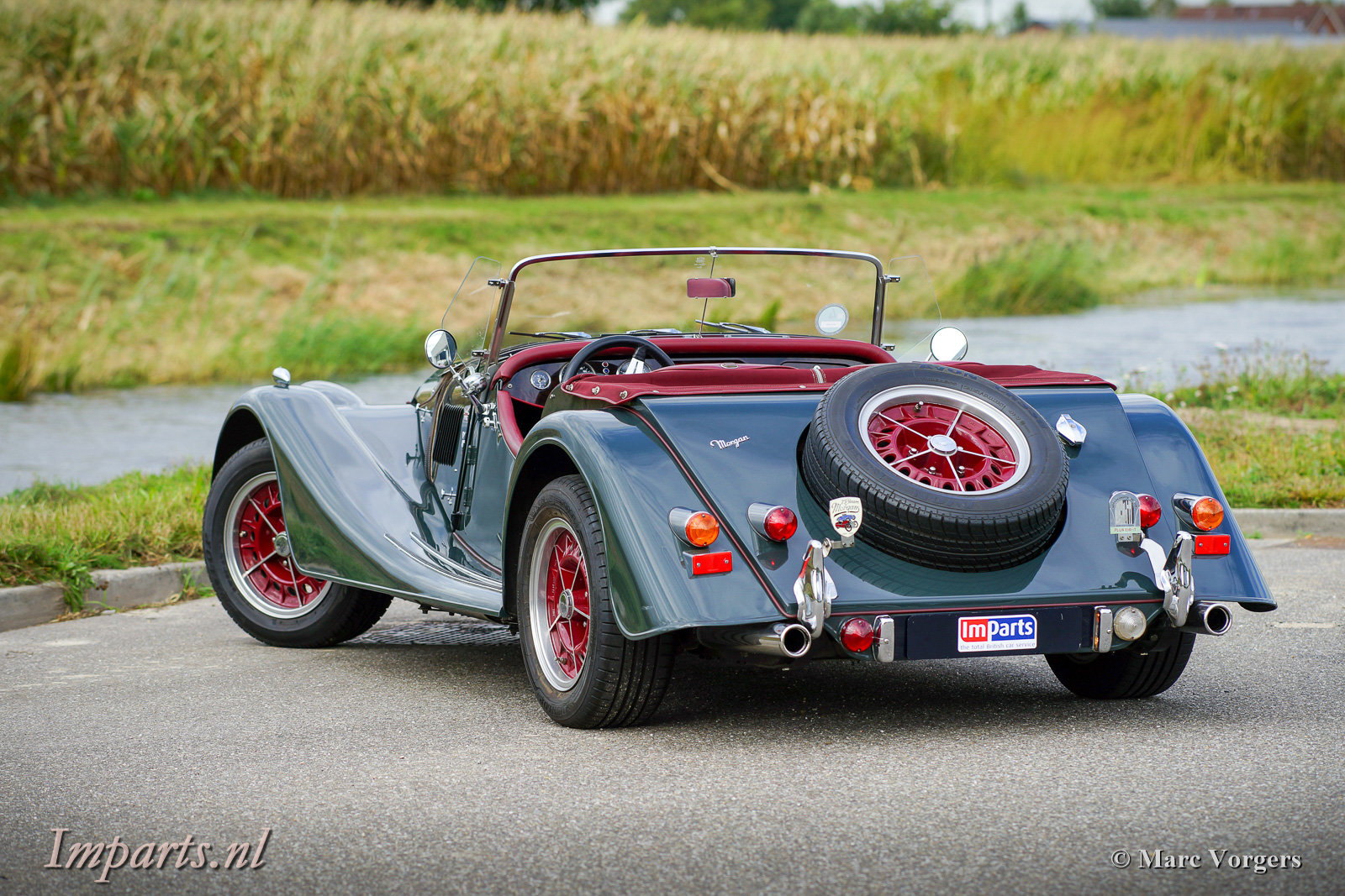 1997 Excellent Morgan Plus 8 (LHD) For Sale (picture 4 of 6)