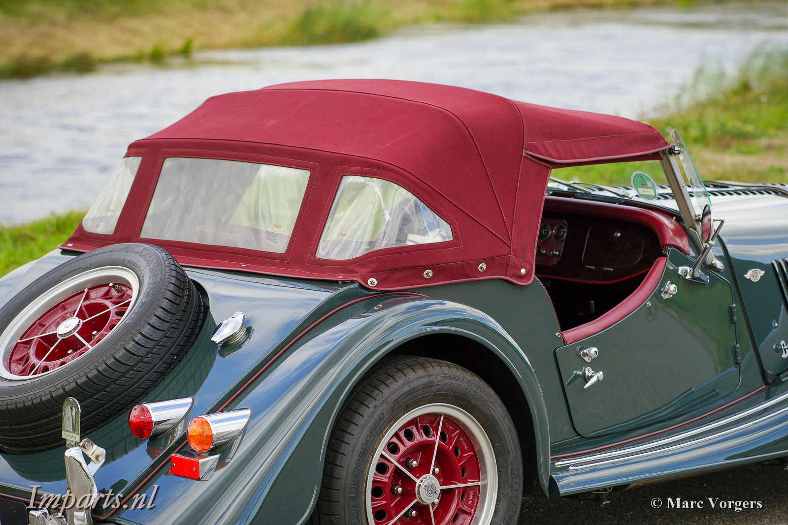 1997 Excellent Morgan Plus 8 (LHD) For Sale (picture 5 of 6)
