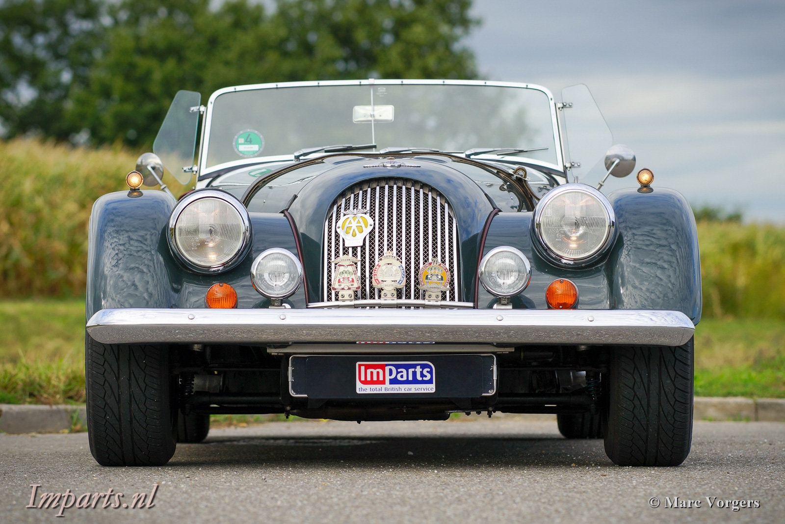 1997 Excellent Morgan Plus 8 (LHD) For Sale (picture 6 of 6)