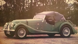 Picture of 1964 RHD Morgan +4 in restoration state