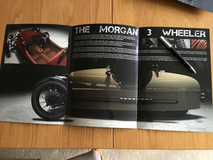 Morgan 3 wheeler brochure