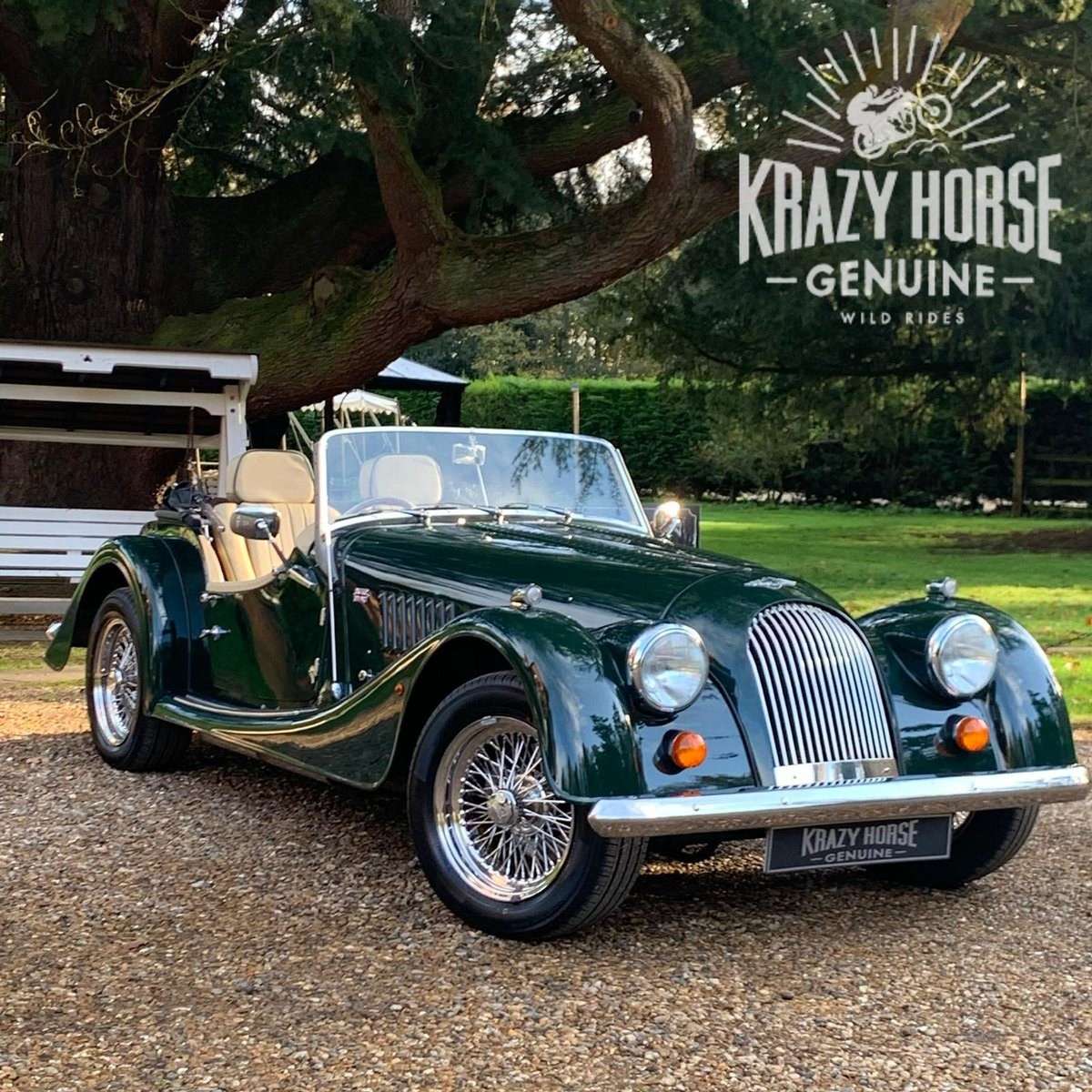 2004 Morgan 4/4 Lowline in Sport Green SOLD (picture 1 of 15)
