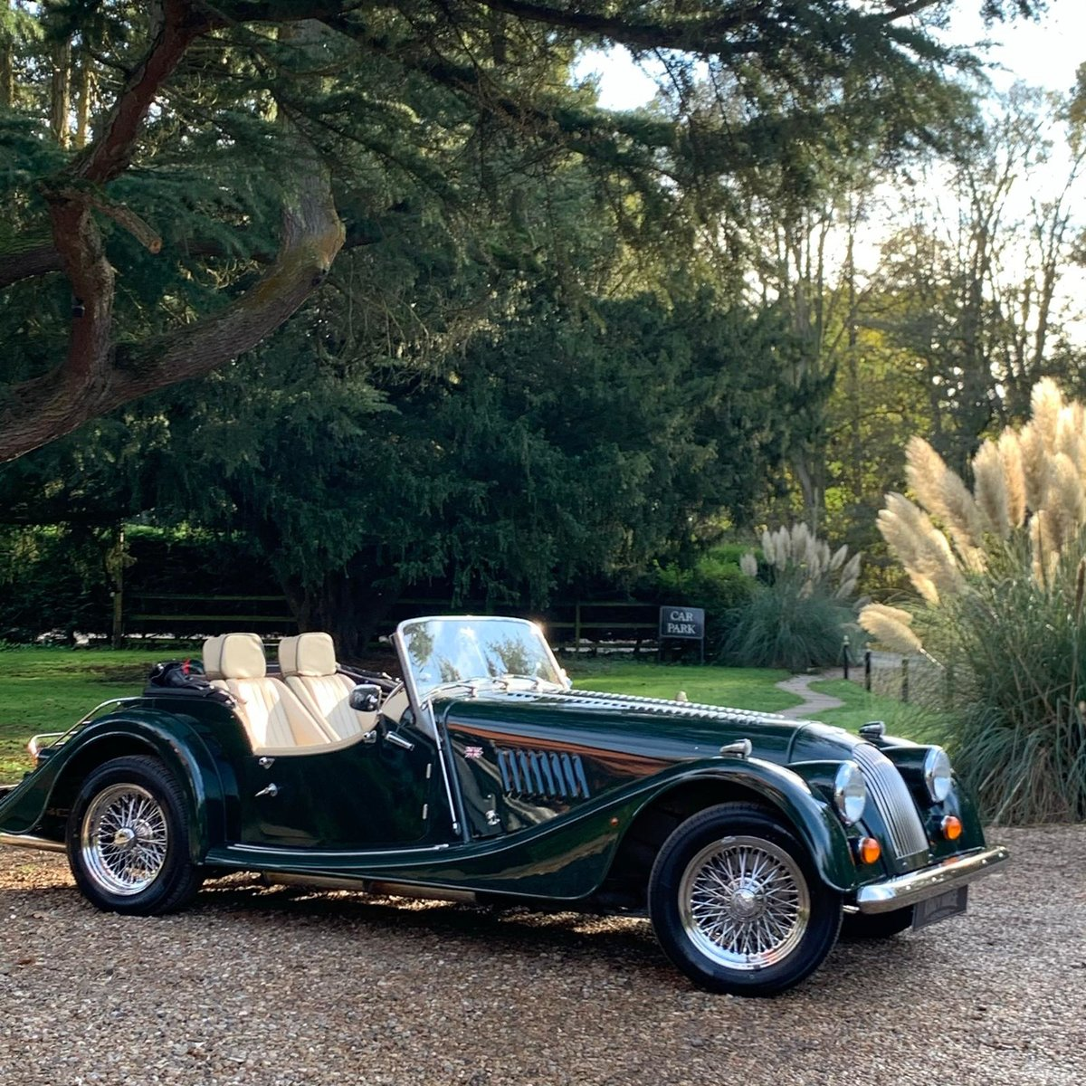 2004 Morgan 4/4 Lowline in Sport Green SOLD (picture 2 of 15)