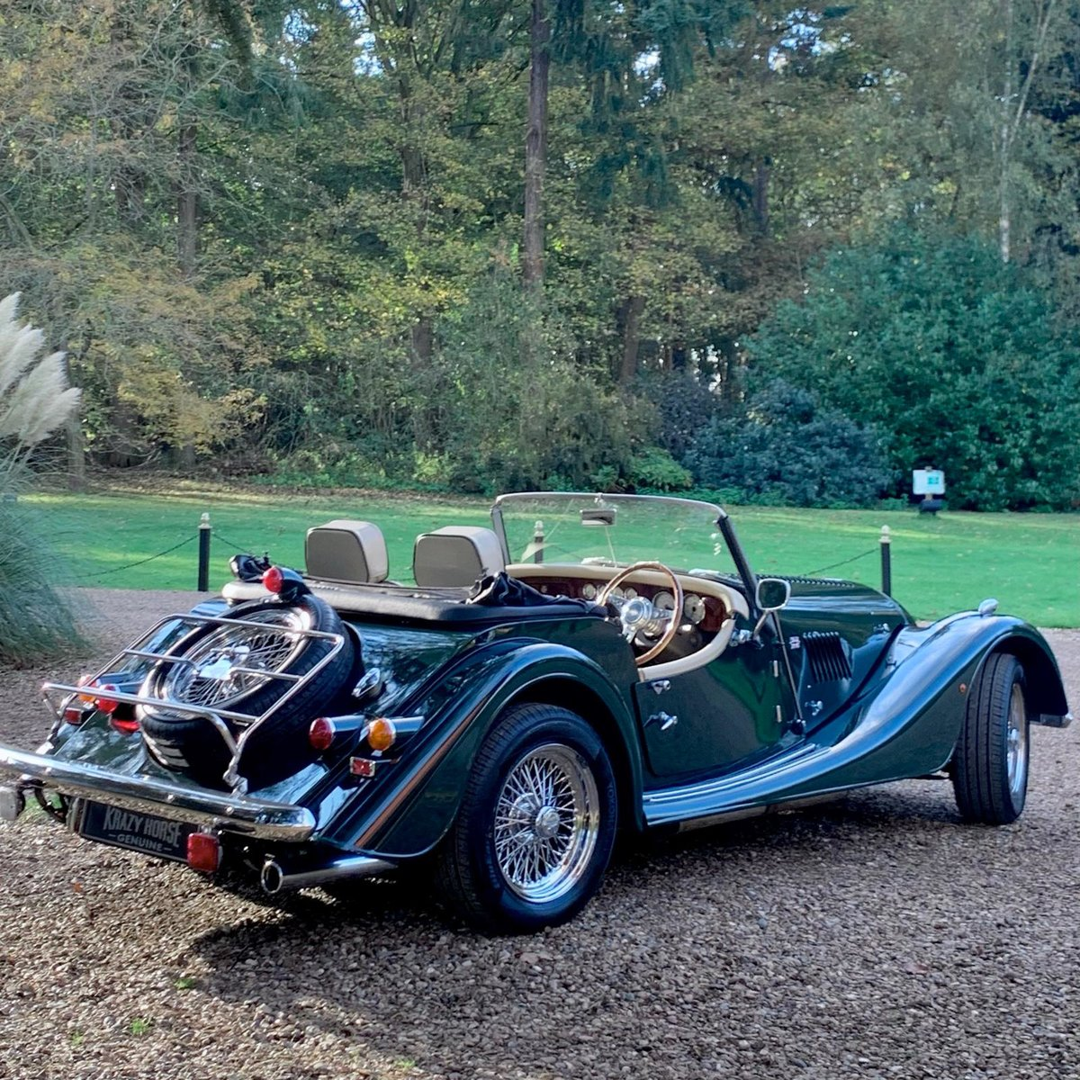 2004 morgan 4/4 lowline in sport green for sale | car and