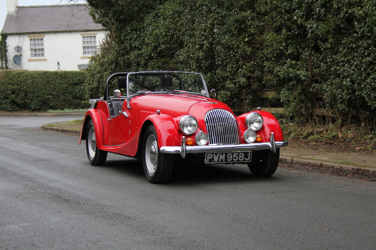 1971 Morgan 4/4 Four Seat Tourer, Beautifully Presented For Sale (picture 1 of 15)