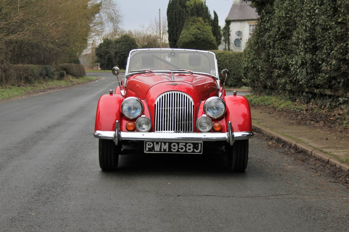 1971 Morgan 4/4 Four Seat Tourer, Beautifully Presented For Sale (picture 2 of 15)
