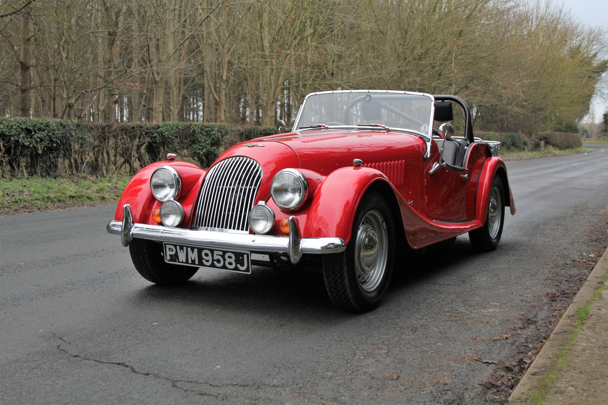 1971 Morgan 4/4 Four Seat Tourer, Beautifully Presented For Sale (picture 3 of 15)