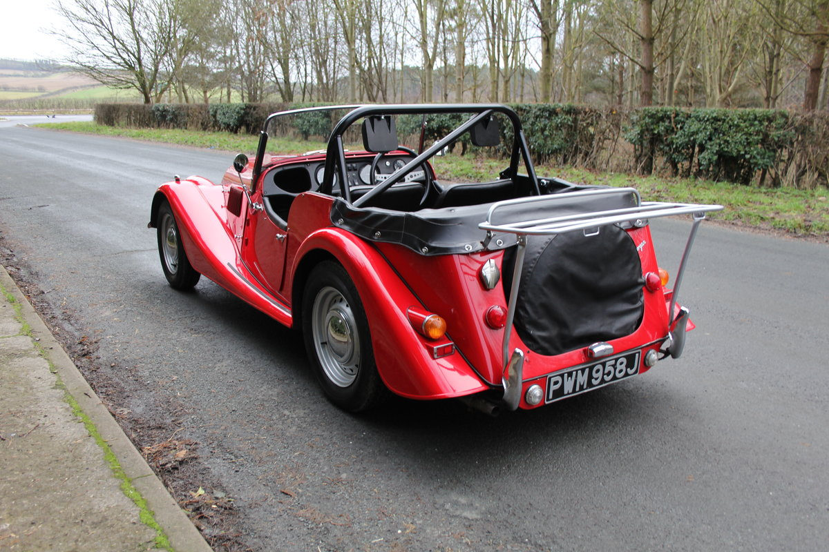 1971 Morgan 4/4 Four Seat Tourer, Beautifully Presented For Sale (picture 4 of 15)