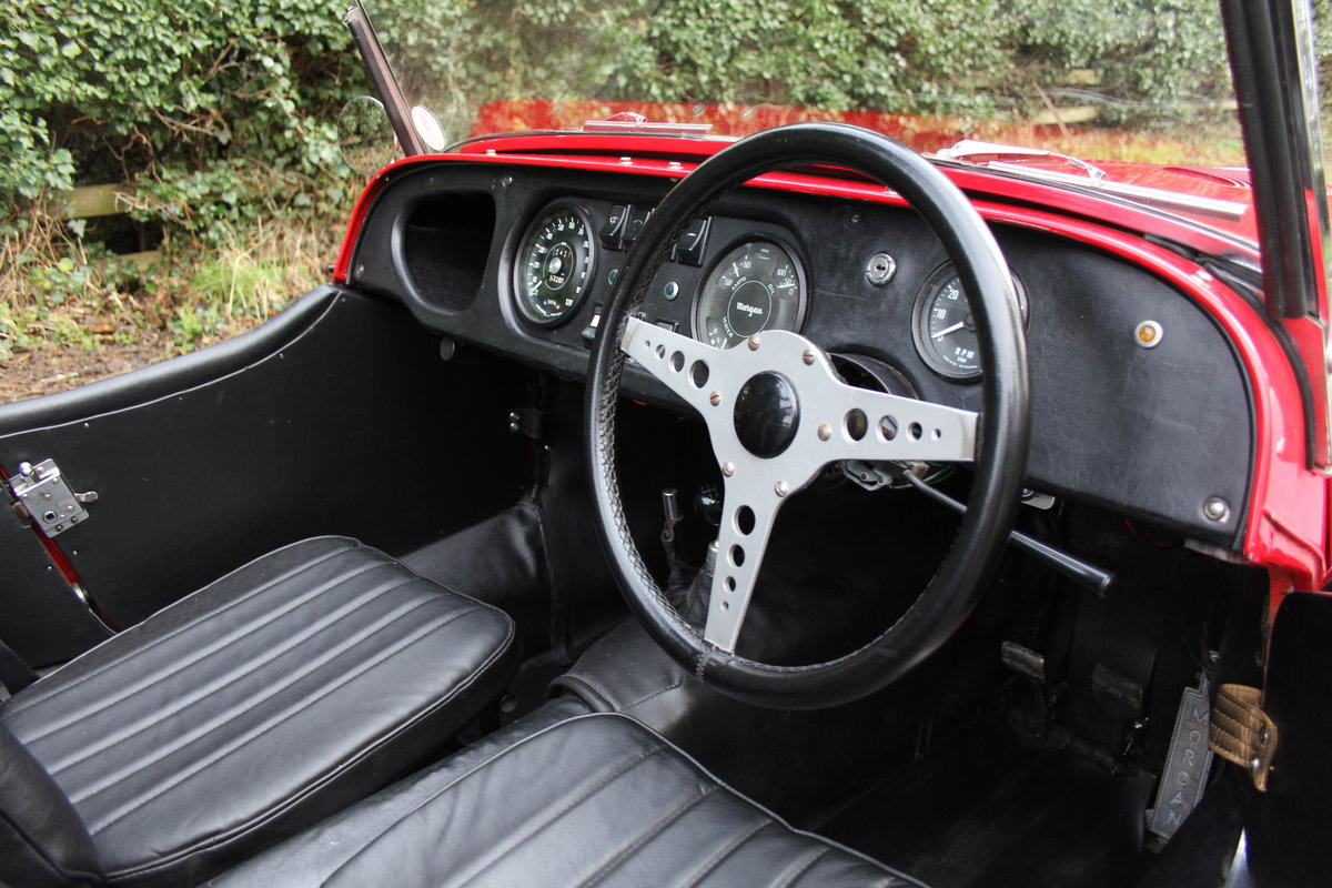 1971 Morgan 4/4 Four Seat Tourer, Beautifully Presented For Sale (picture 8 of 15)