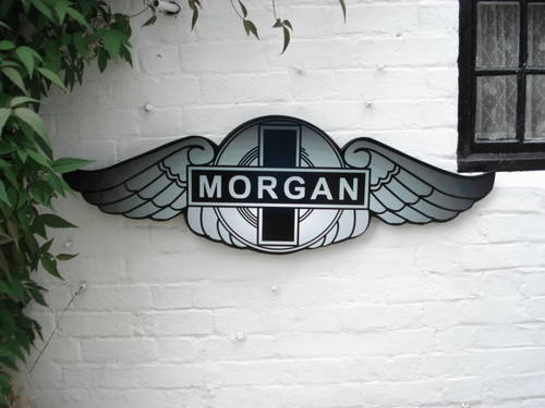 Morgan garage sign For Sale (picture 1 of 1)