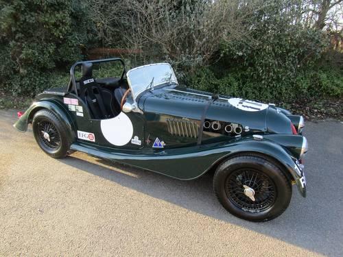 """1960 Morgan Plus-4, Period """"E"""" FIA Race car. SOLD (picture 1 of 6)"""
