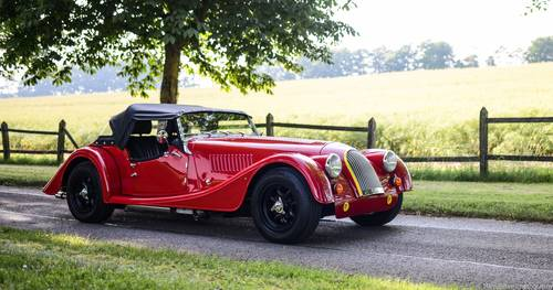 2012 Morgan Plus 4 Supersports Only 73 Miles - RHD For Sale (picture 1 of 6)