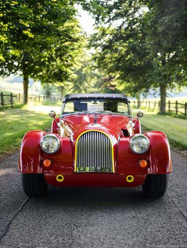 2012 Morgan Plus 4 Supersports Only 73 Miles - RHD For Sale (picture 2 of 6)