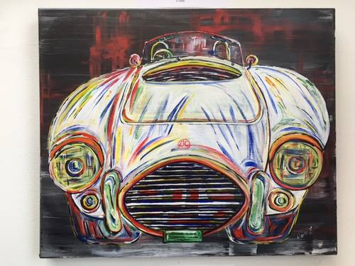 1984 Classic Cars Greetings Cards. Pack of 4 Different Cars For Sale (picture 2 of 6)