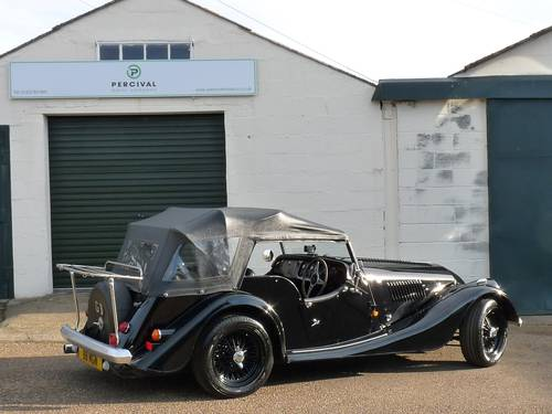 1992 Morgan Plus 4, four seater, black on black SOLD SOLD (picture 2 of 6)