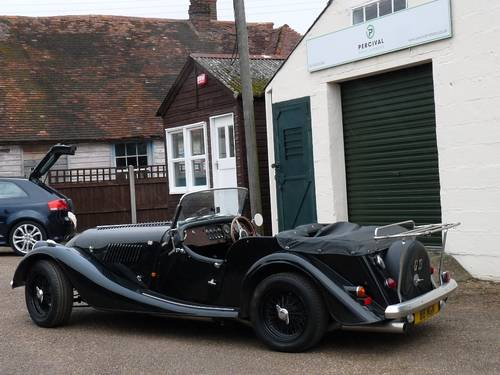 1992 Morgan Plus 4, four seater, black on black SOLD SOLD (picture 3 of 6)