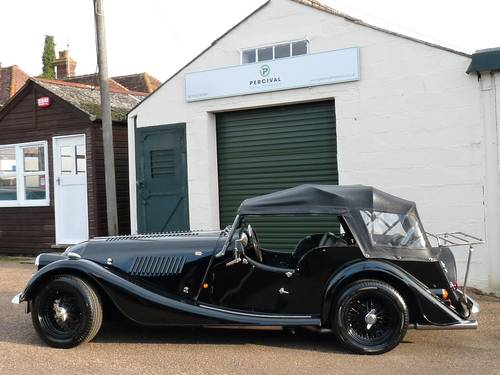 1992 Morgan Plus 4, four seater, black on black SOLD SOLD (picture 5 of 6)