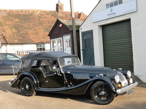 1992 Morgan Plus 4, four seater, black on black SOLD SOLD (picture 6 of 6)