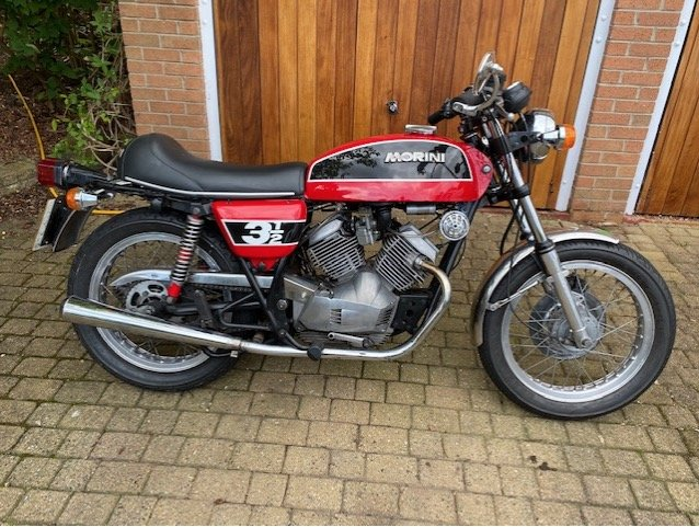 1976 Moto Morini 3 1/2 Sport For Sale (picture 1 of 6)