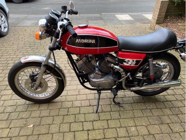 1976 Moto Morini 3 1/2 Sport For Sale (picture 3 of 6)