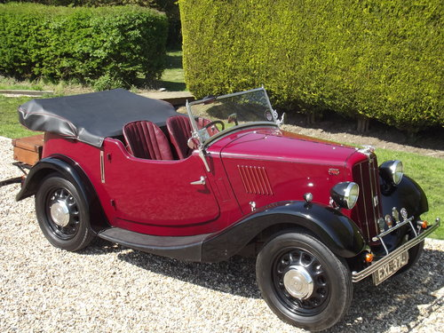 1938 Morris 8 Four Seater Tourer SOLD (picture 1 of 6)