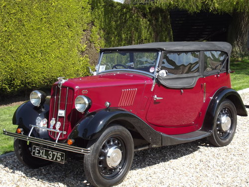 1938 Morris 8 Four Seater Tourer SOLD (picture 2 of 6)