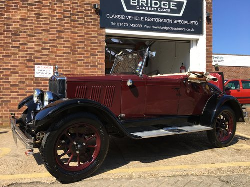 1929 Morris Cowley - Impeccable History, Absolute Gem SOLD (picture 1 of 6)
