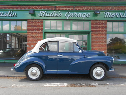 1963 Morris Minor 1000 Convertible  For Sale (picture 1 of 6)