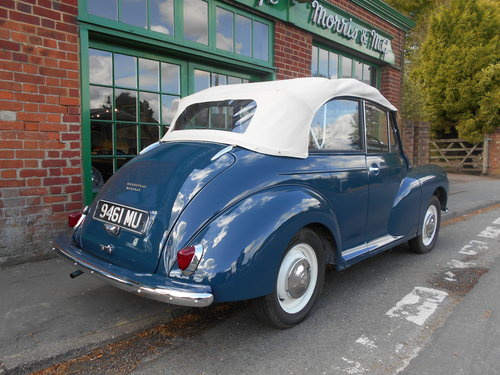 1963 Morris Minor 1000 Convertible  For Sale (picture 3 of 6)