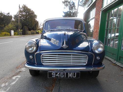 1963 Morris Minor 1000 Convertible  For Sale (picture 6 of 6)