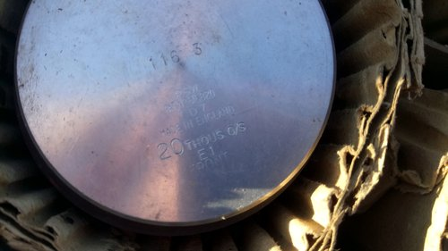 Set of new Morris 12 Pistons +020 SOLD (picture 3 of 3)