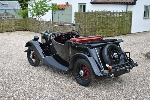 Morris 8 Two Seat Tourer 1937 Series One  SOLD (picture 5 of 6)