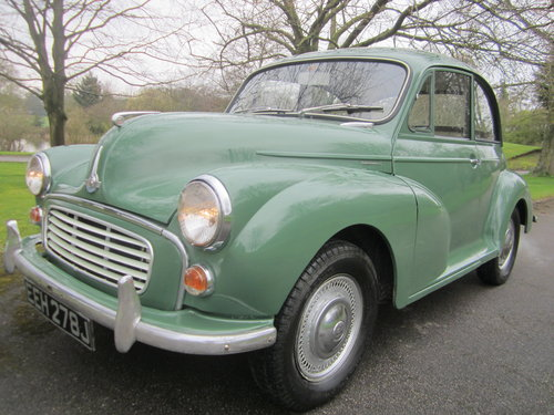 1970 MORRIS MINOR **SOLD ~ OTHERS WANTED 07739 329 389 ~ SOLD** For Sale (picture 1 of 6)