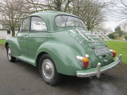 1970 MORRIS MINOR **SOLD ~ OTHERS WANTED 07739 329 389 ~ SOLD** For Sale (picture 2 of 6)