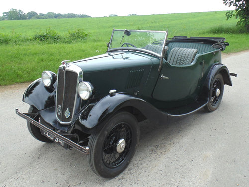1935 Morris 8 Series 1 Tourer SOLD (picture 1 of 6)