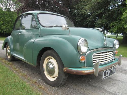 1968 MORRIS MINOR **SOLD ~ OTHERS WANTED 07739 329 389 ~ SOLD** For Sale (picture 2 of 6)
