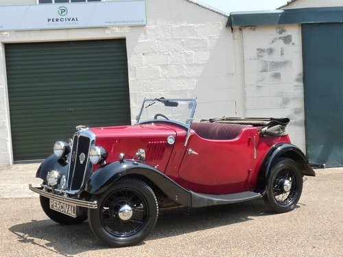 1936 Morris 8 2 seater Tourer, SOLD SOLD (picture 1 of 6)