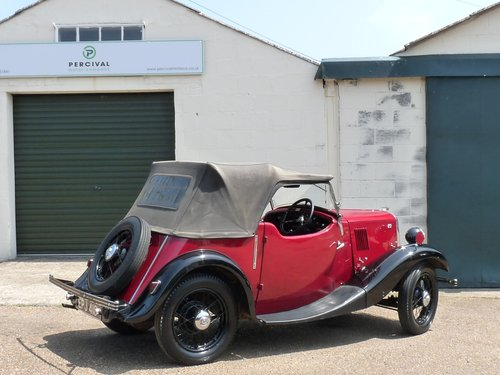 1936 Morris 8 2 seater Tourer, SOLD SOLD (picture 2 of 6)