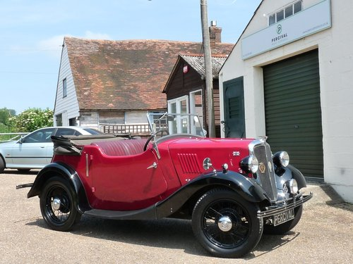 1936 Morris 8 2 seater Tourer, SOLD SOLD (picture 5 of 6)