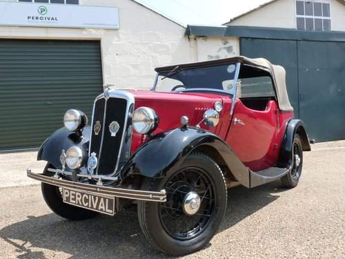 1936 Morris 8 2 seater Tourer, SOLD SOLD (picture 6 of 6)