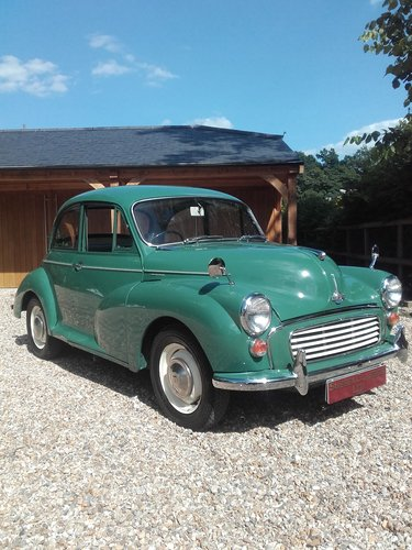 1965 Morris Minor 1000 (Credit/Debit Cards Accepted) SOLD (picture 1 of 6)