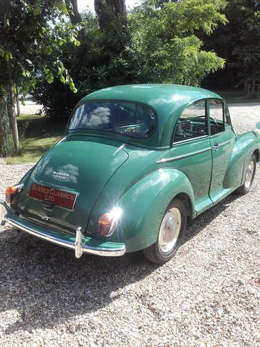 1965 Morris Minor 1000 (Credit/Debit Cards Accepted) SOLD (picture 3 of 6)