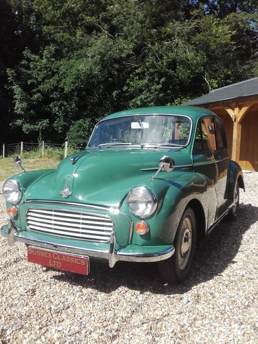 1965 Morris Minor 1000 (Credit/Debit Cards Accepted) SOLD (picture 2 of 6)