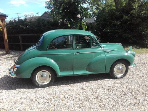 1965 Morris Minor 1000 (Credit/Debit Cards Accepted) SOLD (picture 4 of 6)