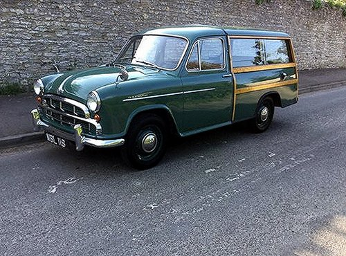 1955 MORRIS OXFORD WOODY ESTATE CAR SOLD (picture 1 of 4)