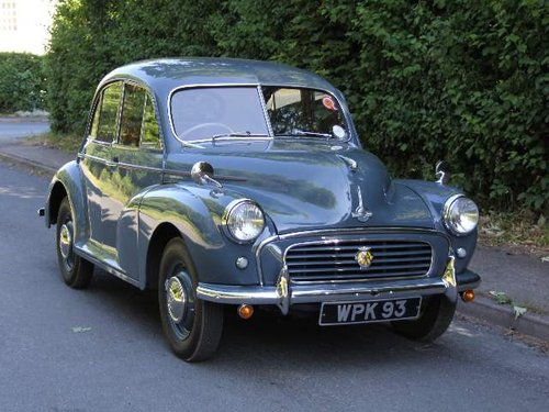 1955 Morris Minor Splitscreen - 1 owner and 3k miles in 40 years SOLD (picture 1 of 6)