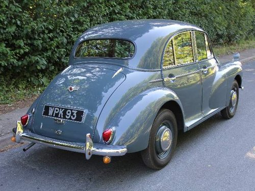 1955 Morris Minor Splitscreen - 1 owner and 3k miles in 40 years SOLD (picture 3 of 6)